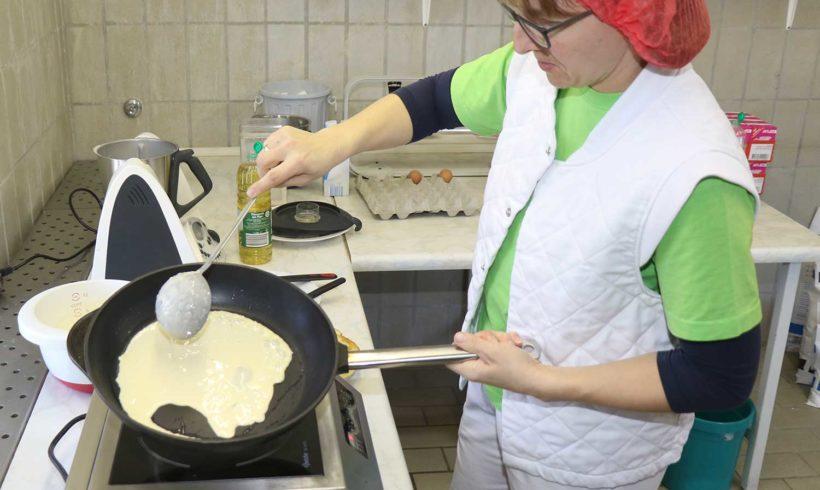 Neu: Jetzt auch hausgemachte Pfannkuchen im Sortiment